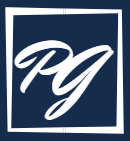 Paul Griffin Initials Logo